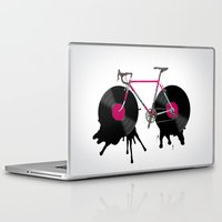 bicycle Laptop & iPad Skins featuring bicycle by mark ashkenazi