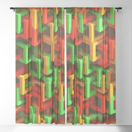 Complex 1C Sheer Curtain