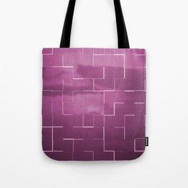 Labyrinth pink Tote Bag