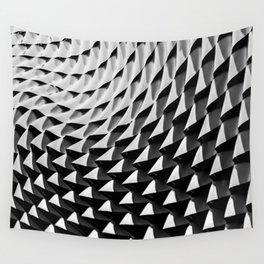 HOME DECOR,YOGA,iPHONE CASE,LAPTOP sleeve,BlackandWhite,Leggings,Geometrical,Unsymmetrical pattern Wall Tapestry