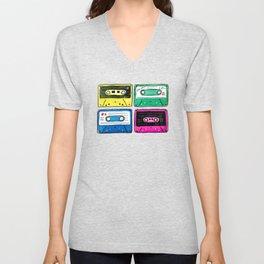 Cassettes Unisex V-Neck