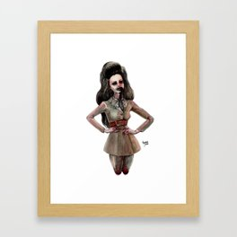 DARLING, I FALL TO PIECES WHEN I'M WITH YOU Framed Art Print