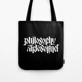Philosophy, Art & Science Tote Bag