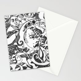 PARANOID DAYDREAM Stationery Cards