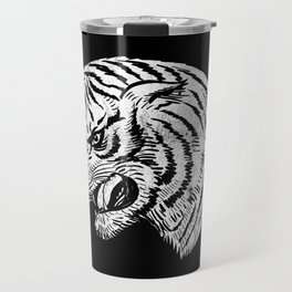 Ghost Tiger Travel Mug