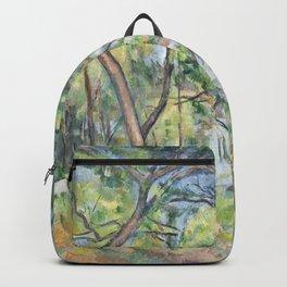 Paul Cézanne - Sous-Bois Backpack
