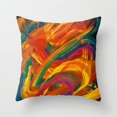 Inner Lights Throw Pillow