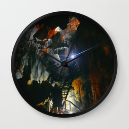 The Cave Pt2 Wall Clock