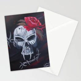 Gunshot of Roses Stationery Cards