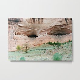 Canyon de Chelly, the Eyes Metal Print
