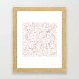 10 Print: Thin Red Framed Art Print