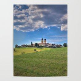 Kloster St. Morgen im Schwarzwald Poster
