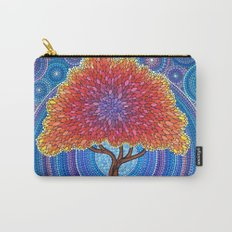 Autumn Blossoms Carry-All Pouch