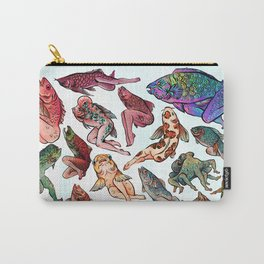 Reverse Mermaids Carry-All Pouch