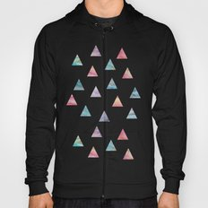 Marble Triangles Hoody