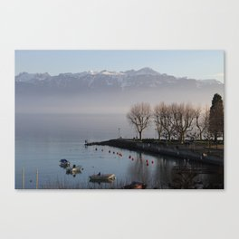 Lausanne Afternoon Canvas Print