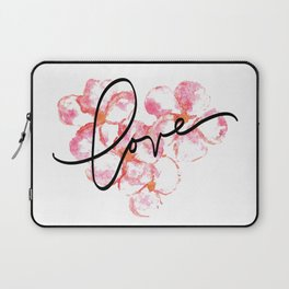"Plumeria Love - A Romantic way to say, ""I Love You"" Laptop Sleeve"