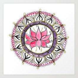 Lotus beauty Art Print