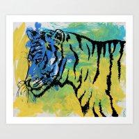 Tiger #35 Art Print
