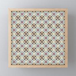 Floor Series: Spanish Tiles 30 Framed Mini Art Print