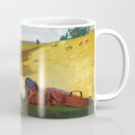 Winslow Homer1 - Warm Afternoon - Digital Remastered Edition Coffee Mug