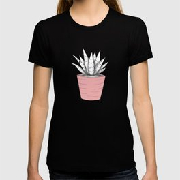 Succulent in Pink T-shirt