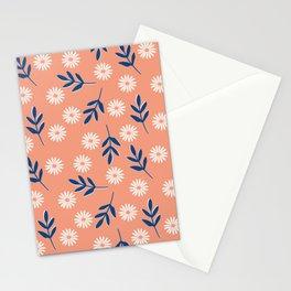 Soft peach meadow  Stationery Cards