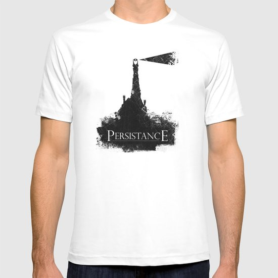 Lord of the Rings Motivational Poster - Persistance T-shirt