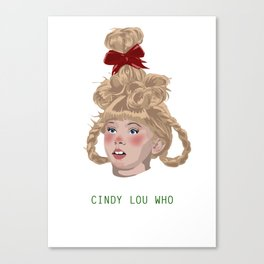 Cindy Lou Canvas Print
