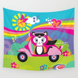 Baby Scoot ( Girls ) Wall Tapestry