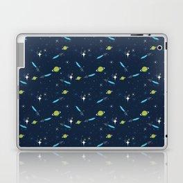 Galactic Fantasy on Dark Blue Laptop & iPad Skin