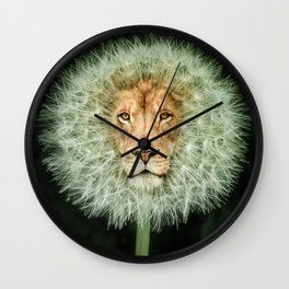 Dan The Lion Wall Clock