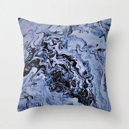 Spelunking in the Bluegrass caverns of Kentucky Throw Pillow