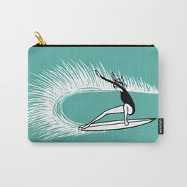 Surfer Girl Turn Carry-All Pouch