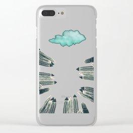 Dark Area Clear iPhone Case