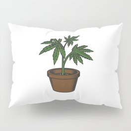 Cannabis Sativa Pillow Sham