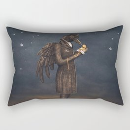 Even miracles take a little time. Rectangular Pillow
