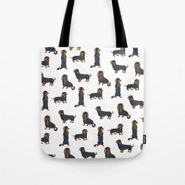 Dachschund Delight Tote Bag