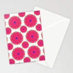 Pink Mandalas Stationery Cards