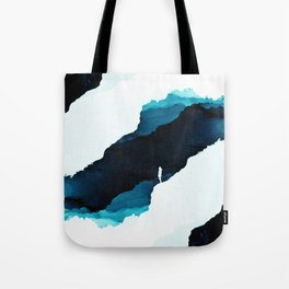 Teal Isolation Tote Bag
