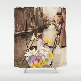 The Suitor II Shower Curtain