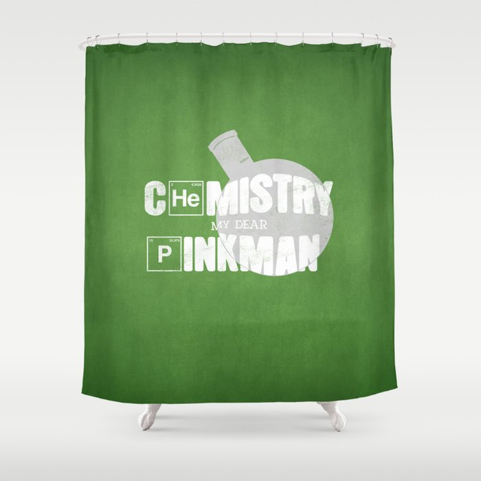 Chemistry Shower Curtain By 5eth
