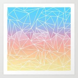 Bakana Rays Art Print