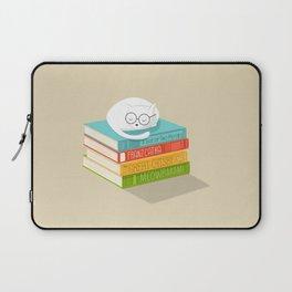 The Cat Loves Books Laptop Sleeve