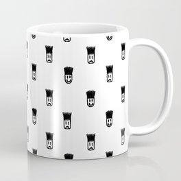 Sketchy Emojis Print Pattern Coffee Mug