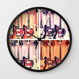 Guitar Shop Wall Clock