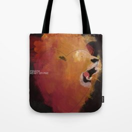 INDIANA - Heart On Fire Tote Bag