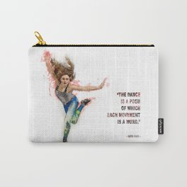 Dancer - Tap Carry-All Pouch