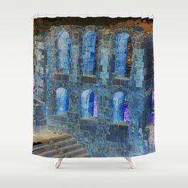 Greek legends- inverse palette Shower Curtain