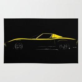 Lamborghini Miura Rug